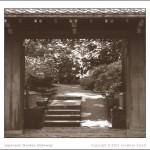 Japanese Garden Gateway